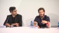 INTERVIEW Andrew Garfield on what attracted to the role how it was personal to him at '99 Homes' Press Conference 71st Venice International Film...