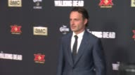 Andrew Lincoln at 'The Walking Dead Season 5' Los Angeles Premiere at AMC Universal City Walk on October 02 2014 in Universal City California