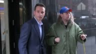 Andrew Lincoln exits Good Day New York 02/17/12 in Celebrity Sightings in New York