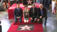 Andrew Lincoln Gale Anne Hurd and James Cameron at Gale Anne Hurd Honored with Star on the Hollywood Walk of Fame on 10/3/12 in Hollywood CA