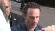 Andrew Lincoln greets fans at Comic Con in San Diego on
