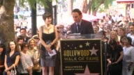 Andrew Lincoln on meeting Gale Anne Hurd and on working with her at Gale Anne Hurd Honored with Star on the Hollywood Walk of Fame on 10/3/12 in...