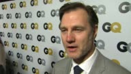 INTERVIEW Andrew Lincoln on what qualities make a gentlemen at GQ Men Of The Year Party in Los Angeles CA on 11/12/13