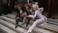 Andrew Lloyd Webber Trevor Nunn Gillian Lynne and John Napier invite you to the launch of CATS Let the Memory Live Again Shows exterior shots of...