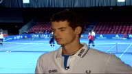 Andy Murray interview SOT Federer is great player great to beat him