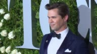 Andrew Rannells at 2017 Tony Awards Red Carpet at Radio City Music Hall on June 11 2017 in New York City
