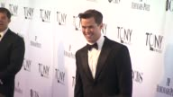 Andrew Rannells at the 65th Annual Tony Awards Red Carpet Media Room at New York NY
