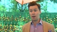INTERVIEW Andrew Rannells on how he learned about Polo at Veuve Clicquot Polo Classic 2015 at Liberty State Park on May 30 2015 in Jersey City New...