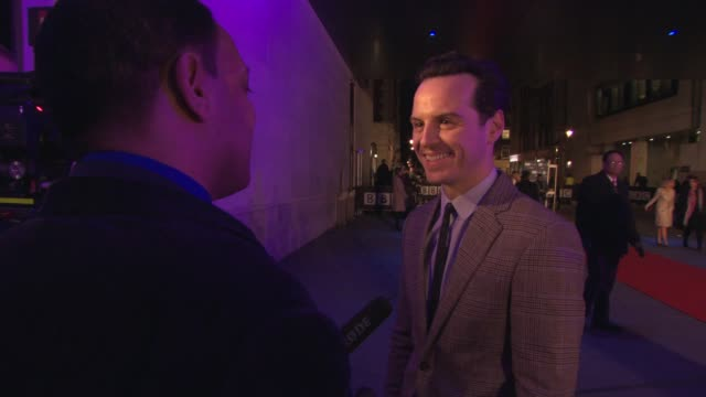 Andrew Scott at BBC Films 25th Anniversary Reception at BBC Radio Theatre on March 25 2015 in London England