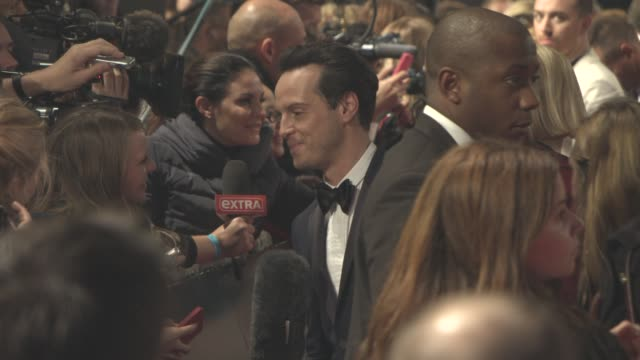 Andrew Scott at 'Spectre' World Premiere at Royal Albert Hall on October 26 2015 in London England