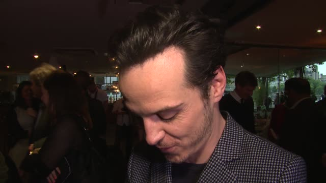 INTERVIEW Andrew Scott on Ken Loach upcoming roles and Sherlock at the UK Premiere of Jimmy's Hall at BFI Southbank on May 28th 2014 in London England