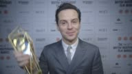 INTERVIEW Andrew Scott on winning 'Best Supporting Actor' for 'Pride' at The Moet British Independent Film Awards 2014 at Old Billingsgate Market on...