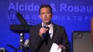 SPEECH – Andrew Shue on his wife being a cancer survivor and why she is in Florida braving the storm instead of being here on the importance of...