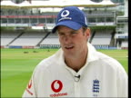 CMS Andrew Strauss interview SOT Pays tribute to Hussein and says that now it is his turn