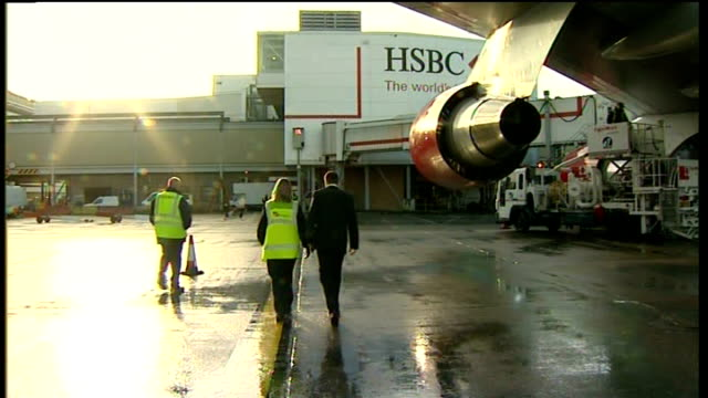 Andrew Strauss interview Strauss away over tarmac to Gatwick Airport building