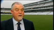 Andrew Strauss new England captain Dean Wilson interview SOT Mike Gatting interview SOT Reporter to camera