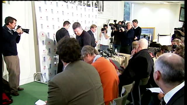 Andrew Strauss new England captain London Lords INT Andrew Strauss press conference SOT Pietersen did what he thought was best for England team