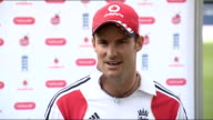 Andrew Strauss press conference SOT