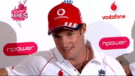 INT Andrew Strauss press conference SOT