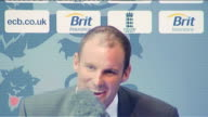 Andrew Strauss steps down as England captain Lords Advice to Alastair Andrew Strauss press conference SOT not going to answer that question directly...