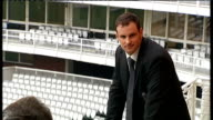 Andrew Strauss takes over as England cricket captain ENGLAND London Lords PHOTOGRAPHY *** Andrew Strauss posing for photocall Press taking pictures