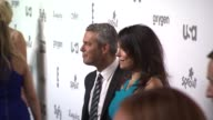 Andy Cohen and Bethenny Frankel at NBCUniversal Cable Entertainment Upfront 2015at The Jacob K Javits Convention Center on May 14 2015 in New York...