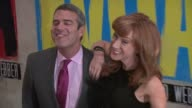 Andy Cohen and Kathy Griffin at 'Evita' Opening Night at Marriot Marquis on April 05 2012 in New York New York
