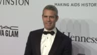 Andy Cohen at amfAR to Honor Harvey Weinstein at Annual New York Gala at Cipriani Wall Street on February 10 2016 in New York City