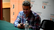 Andy Cohen discusses and promotes his book 'Most Talkative Stories from the Front Lines of Pop Culture' at the University of Miami BankUnited Center...