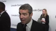 Andy Cohen on being obsessed with both Ralph Lauren and Oprah at the Lincoln Center Presents An Evening With Ralph Lauren Hosted By Oprah Winfrey at...