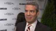 Andy Cohen on loving powerful women being in a room full of them On being excited to meet Justice Ruth Ginsburg at Glamour Magazine's 22nd Annual...