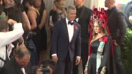 Andy Cohen Sarah Jessica Parker at 'China Through The Looking Glass' Costume Institute Benefit Gala Arrivals at Metropolitan Museum of Art on May 04...