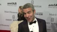 INTERVIEW Andy Cohen talks why he wanted to be in attendance at the amfAR Gala He's supports Harvey Weinstein ' If Trump can run for President why...