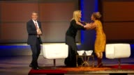 Andy CohenKatie Couric sketch with Arianna Huffington at Glamour Magazine's 22nd Annual Women Of The Year Awards at Carnegie Hall on November 12 2012...