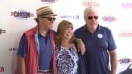 Andy Garcia Cyd Wilson and Ron Perlman at the SAGAFTRA FoundationActors Inspiration Award To Rashida Jones8th Annual Los Angeles Golf Classic at...