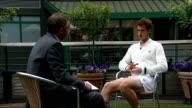 Andy Murray interview SOT The first six seven games is nerves and pressure but once you get going and you start to feel more comfortable its a huge...