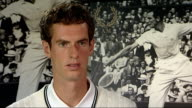 Andy Murray models new Fred Perry sportswear in fashion show Andy Murray interview SOT discusses being 'fashion model' feels more comfortable playing...