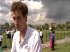 Andy Murray on chances of winning Wimbledon 16 June 2009