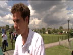 Andy Murray on media coverage of his career 16 June 2009