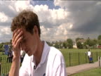 Andy Murray on prospect of winning Wimbledon 16 June 2009