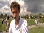 Andy Murray on prospects of winning Wimbledon 16 June 2009