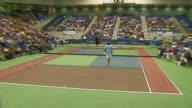 Andy Roddick Pete Sampras and Anna Kournikova at the Advanta Presents WTT Smash Hits Celebrity Tennis Tournament at Bren Center University of Irvine...