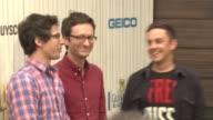 Andy Samberg Akiva Schaffer Jorma Taccone at Spike TV's 2013 Guys Choice on 6/8/2013 in Culver City CA
