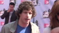 Andy Samberg at the MTV Movie Awards @ the Universal Amphitheatre at Los Angeles California