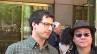 Andy Samberg at the SiriusXM Radio studio Andy Samberg at the SiriusXM Radio studio on June 08 2012 in New York New York