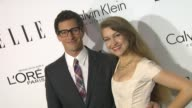 Andy Samberg Joanna Newsom at 20th Annual ELLE 'Women In Hollywood' in Beverly Hills CA on 10/21/13
