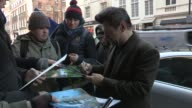 Andy Serkis at Celebrity Video Sightings on December 11 2012 in London England