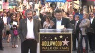 SPEECH Andy Serkis at Peter Jackson Honored With Star On The Hollywood Walk Of Fame at Hollywood Walk Of Fame on December 08 2014 in Hollywood...