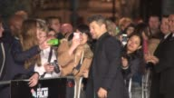 Andy Serkis at 'The Imitation Game' Gala Opening at Odeon Leicester Square on October 08 2014 in London England