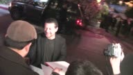 Andy Serkis greets fans Chateau Marmont in West Hollywood in Celebrity Sightings in Los Angeles
